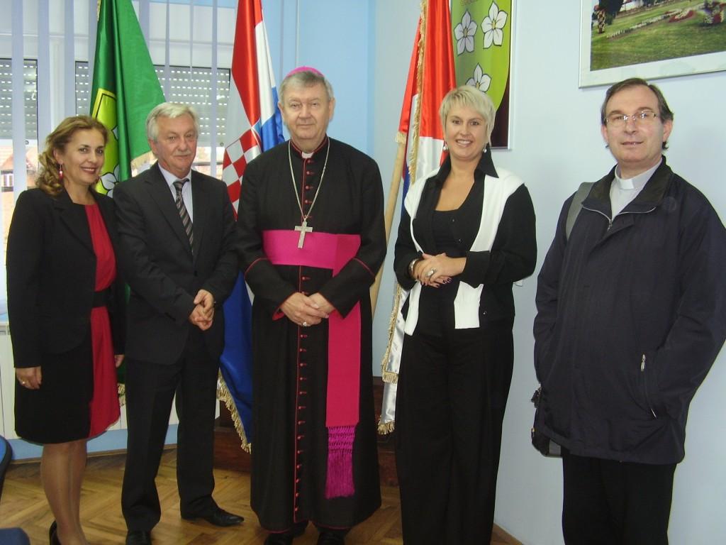 Općinu Belica posjetio je biskup Josip Mrzljak