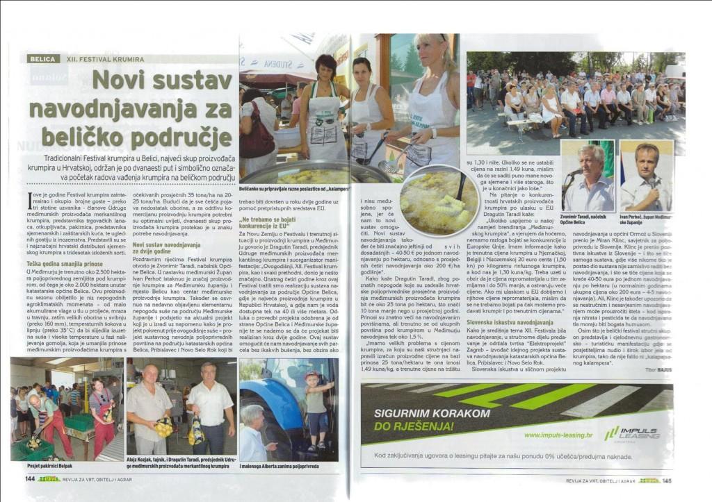 """Časopis """"Nova Zemlja"""" piše o 12. Festivalu krumpira"""