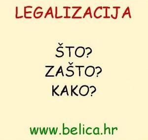 Legalizacija – što, zašto i kako?