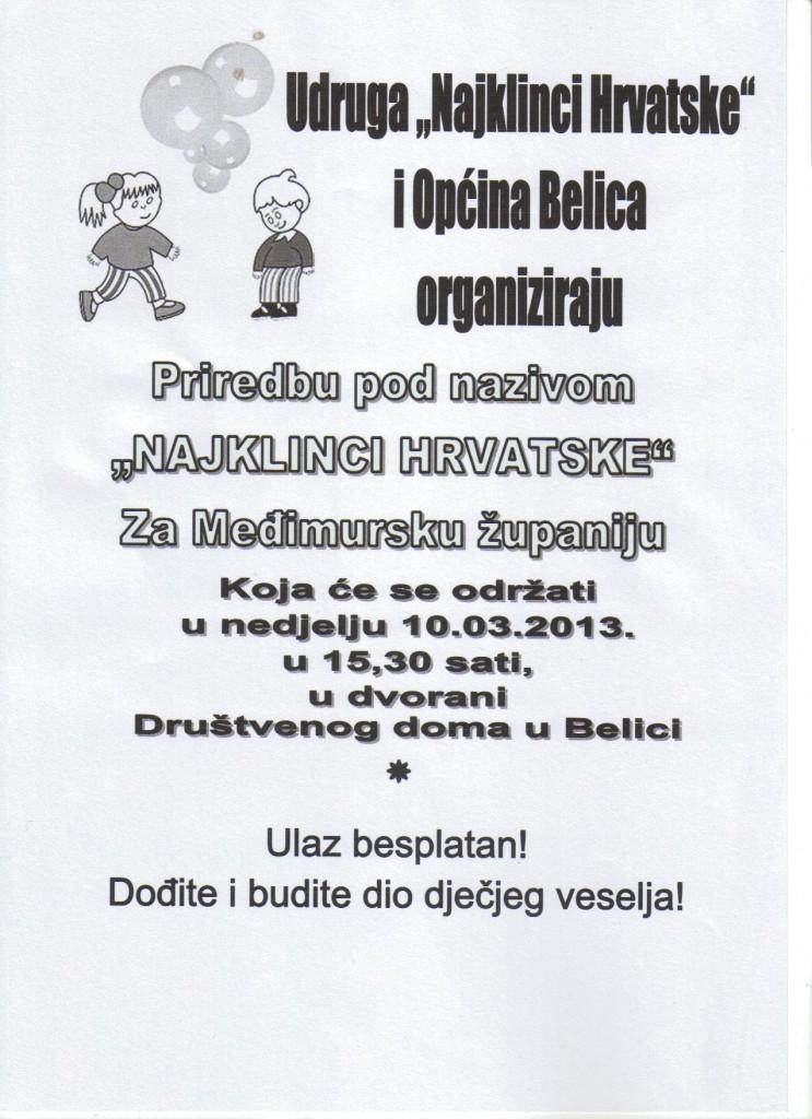 Najklinci Hrvatske 2013