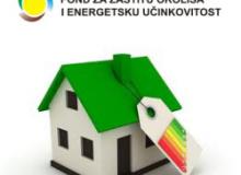 Javni poziv za sufinanciranje energetske obnove postojećih obiteljskih kuća