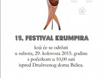 Održat će se 15. Festival krumpira!