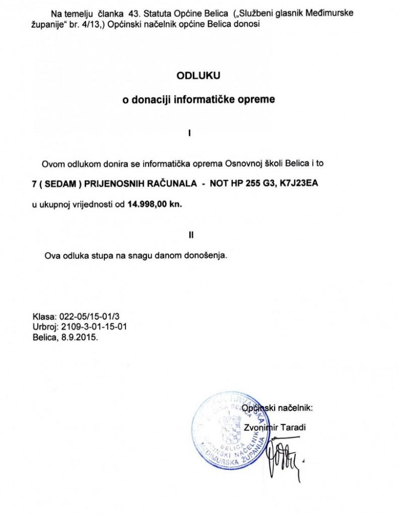 odluka o donaciji školi (2)