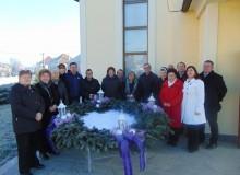 Adventski vijenac u Gardinovcu