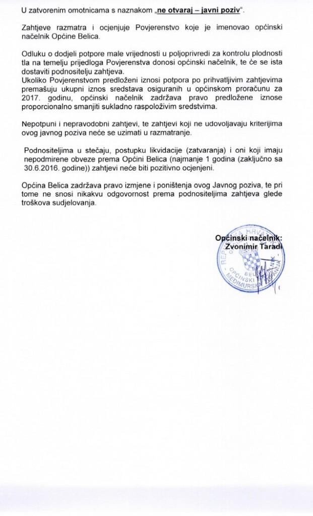 JAVNI POZIV PLODNOST TLA0003