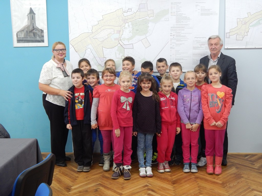 Sastanak učenika Osnovne škole Belica s općinskim načelnikom